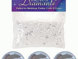 clear diamante