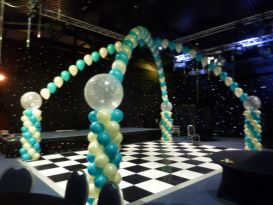 dance floor canopy heartofEngland