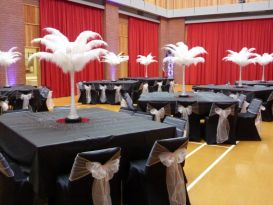 feathers black chaircovers worcester2