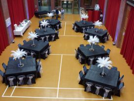 feathers black chaircovers worcester3
