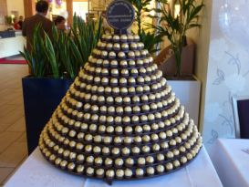 ferrero rocher display