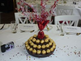 ferrero table display