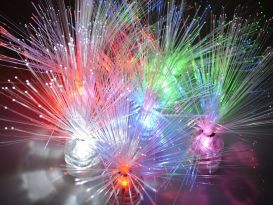 fibre optic fireworks