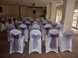 lilac and purple sashes