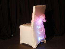 sparkle chair cover