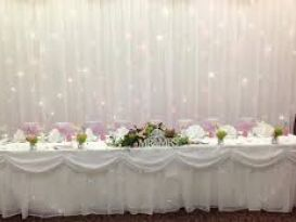 starlight backdrop pink and white