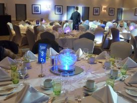 staverton centrepieces chair covers